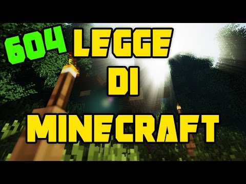 Minecraft ITA - #604 - Quando la legge di minecraft colpisce...