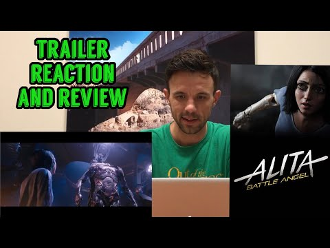 Alita Battle Angel - Comic-Con Trailer Reaction and Review