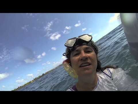 Fatty and Carolyn Goodlander in Tonga Aboard Ganesh