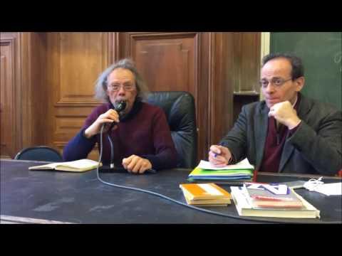 Séminaire Marx au 21e siècle - Georges Gastaud  - Université Paris 1 Panthéon-Sorbonne