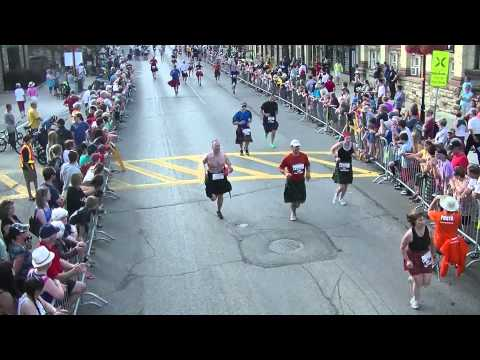 2014 | Perth's World Record Kilt Run | 8k Finish line
