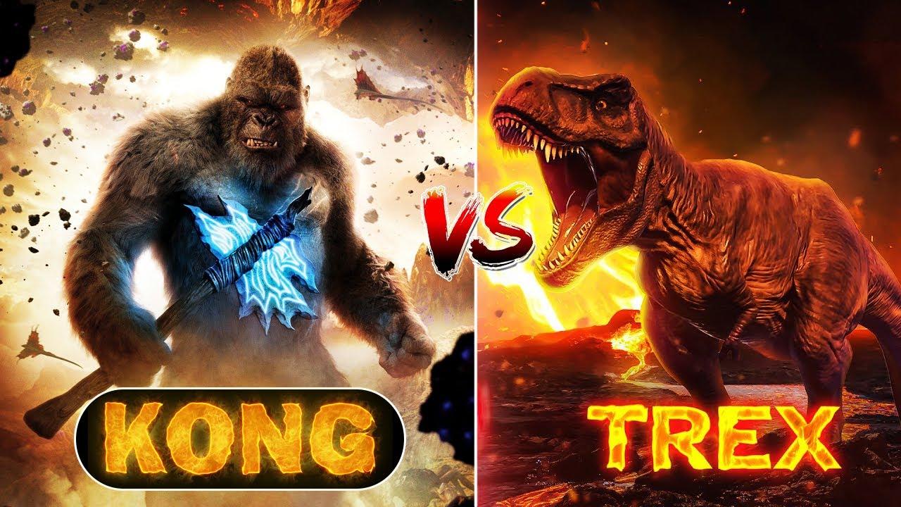 KONG VS TREX बताओ कौन जीतेगा | Who Will Win ?