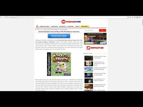 Download Harvest Moon Back to Nature PS1 di Komputer