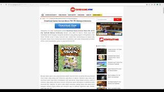 Gambar cover Download Harvest Moon Back to Nature PS1 di Komputer