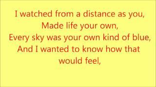 Taylor Swift - Crazier with Lyrics