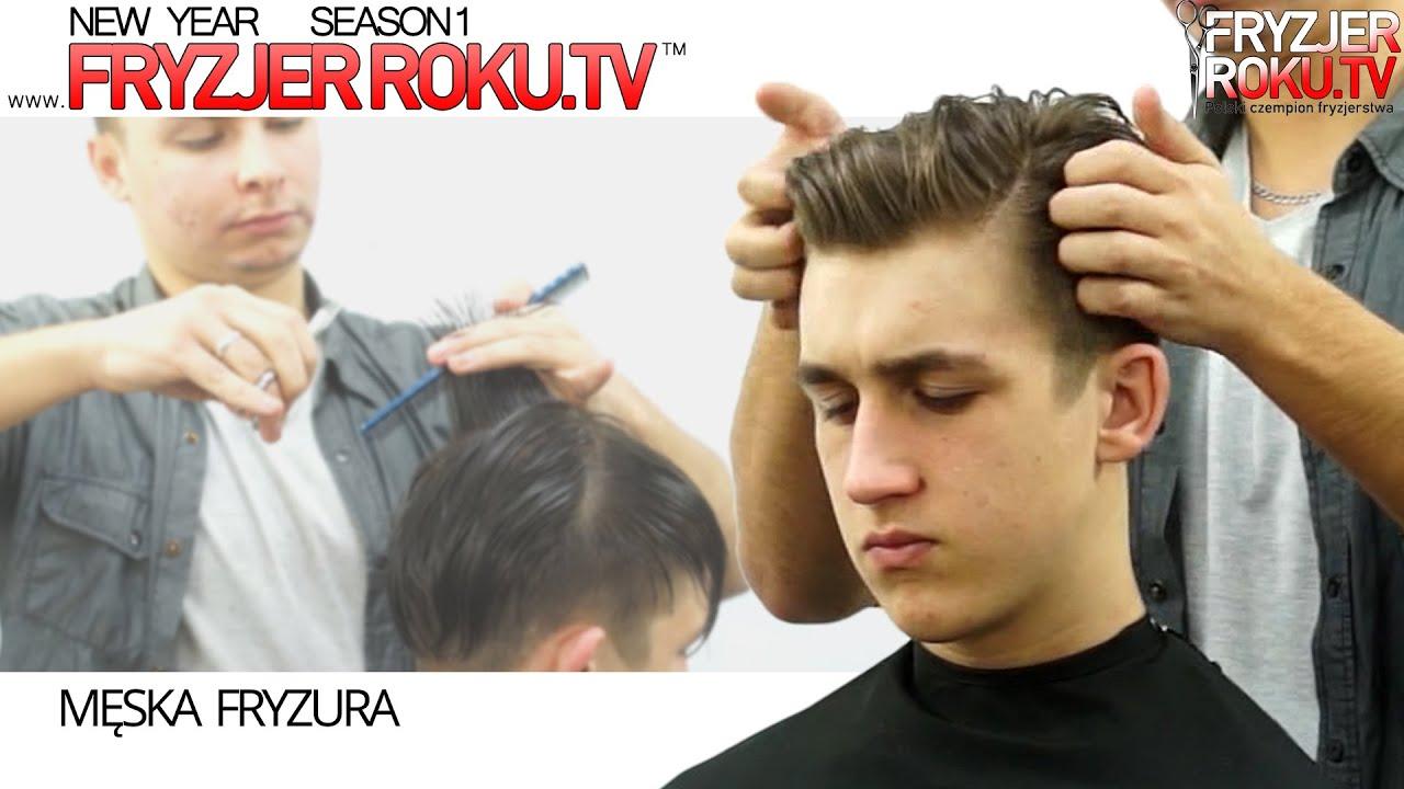 Nowoczesne Męskie Strzyżenie Modern Mens Haircut Fryzjerrokutv
