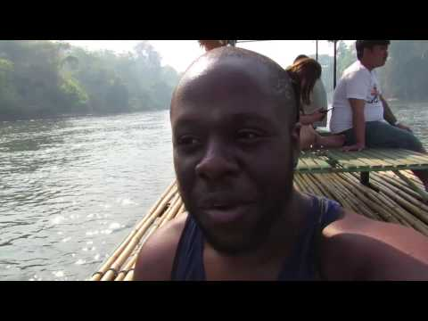 Riding Elephants and WWII History Lessons In Kanchanaburi, Thailand! (Vlog #12)