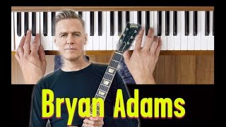 Here I Am (Bryan Adams) [Easy Piano Tutorial]