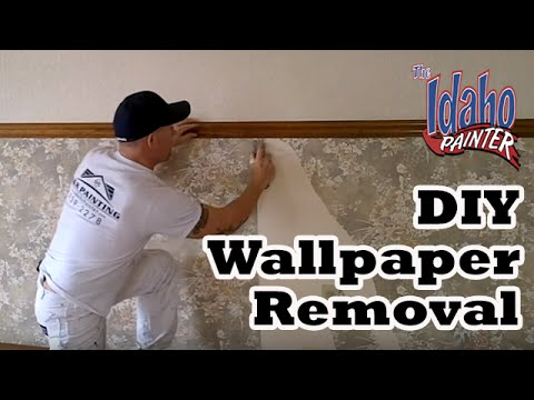 Wallpaper Removal Hacks Removing Wallpapers No Steamer Needed