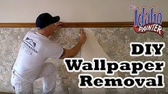 Wallpaper removal hacks. Removing Wallpapers No Steamer Needed.