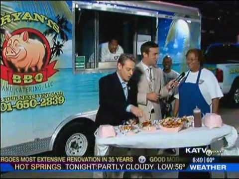 KATV Little Rock: Bryants BBQ-Food Truck Festival