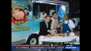 Katv Little Rock: Bryants Bbq-food Truck Festival
