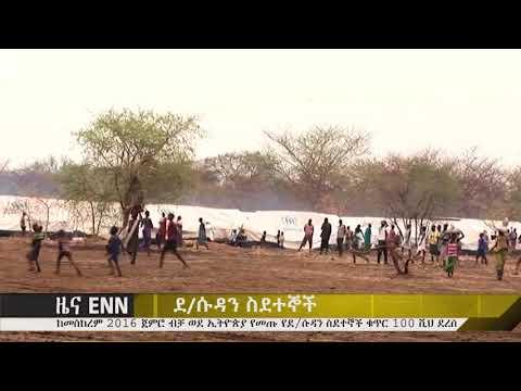 Ethiopia: ከመስከረም 2016 ጀምሮ ብቻ ወደ ኢትዮጵያ የመጡ የደቡብ ሱዳን ስደተኞች ቁጥር 100 ሺህ ደረሰ- ENN News
