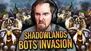 Bots Taking Over Shadowlands! Asmoฑgold Leads a Protest on Every WoW Server