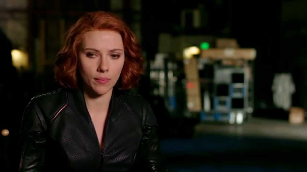 Avengers Age Of Ultron Interview With Scarlett Johansson Hd Youtube