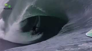 Fantastic moments of surfing in Hawaii
