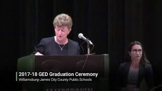 2017-18 GED Graduation Ceremony