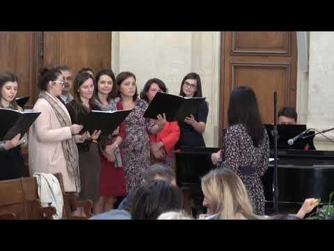 """Corul Bisericii Adventiste Grenelle Paris """"Ce pace solemna"""" 29 septembrie 2018"""