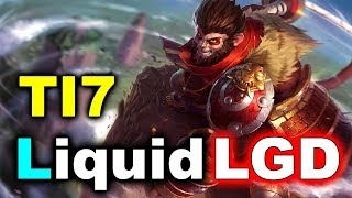 LIQUID vs LGD - 1st vs 2nd Place in Group A -TI7 DOTA 2