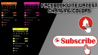How to Change Color on Facebook Lite Latest screenshot 5