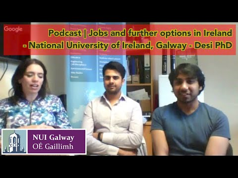 NUIG - 2017 | Live-2 | Jobs and further options with International Office and Student Ambassadors