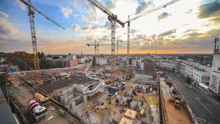 construction site time lapse shopping mall | Minto Mönchengladbach - MFI thumbnail