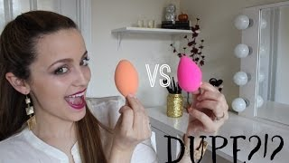 Real Techniques Miracle Complexion Sponge VS. Beauty Blender (Review/Demo)