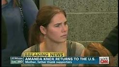 Amanda Knox News Conference Seattle Washington (October 4, 2011)