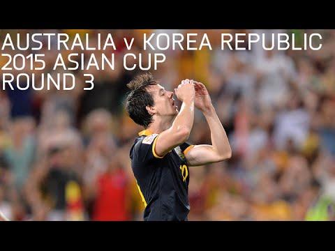 Australia V Korea Republic - 2015 Asian Cup Round 3 - Full Match