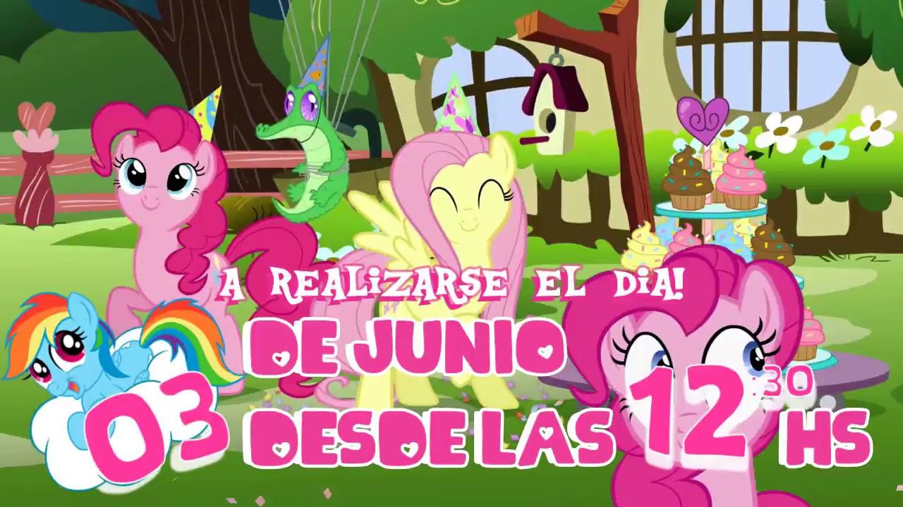 Invitaciones Virtuales My Little Pony