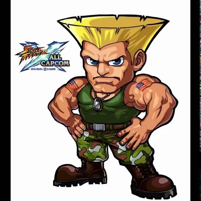 Street Fighter X All Capcom Guile Original Youtube