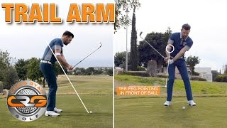 RIGHT ARM DOWNSWING DRILL