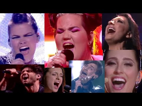 aaaaaa, eeeee, uuuuu and other screams on the eurovision song contest pt.2