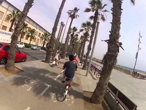 G Adventures Marrakech Express 2013: Biking around Barcelona