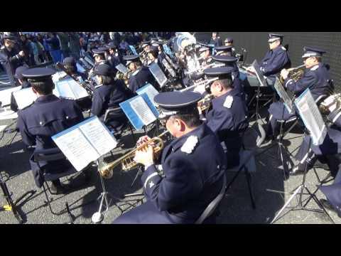 """GReeeeN """"Kiseki"""" - Japanese Air Force Band"""