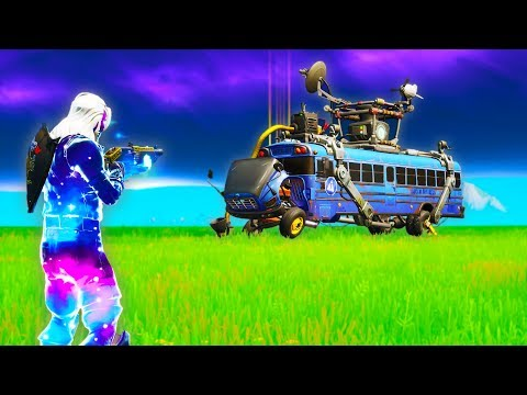 How to get new *Battle Bus* in Creative! (fortnite glitches)