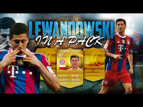 FIFA 15 PC UT | In a Pack | ¡REACCIÓN ROBERT LEWANDOWSKI!