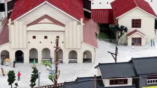 細倉鉱山 昭和30年代(1960年前後)の街並みをジオラマで再現