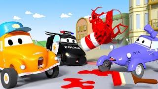 Модница Кейти - Автомойка Эвакуатора Тома в Автомобильный Город 💧 детский мультфильм