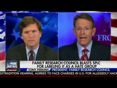 Fox News, Tucker Carlson Blast Southern Poverty Law Center