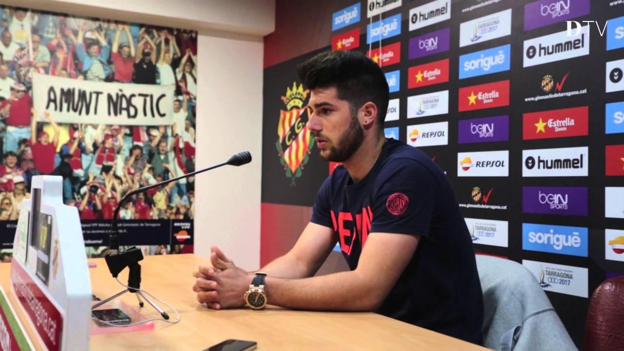 NÀSTIC  Jordi Calavera pide disculpas al club y a la afición - YouTube cf55ad2aa7abf