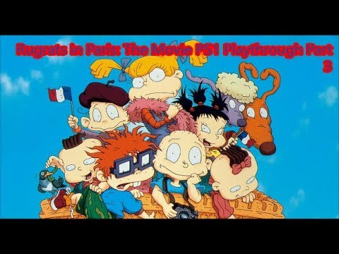 Rugrats In Paris The Movie Ps1 Playthrough Part 3 Youtube