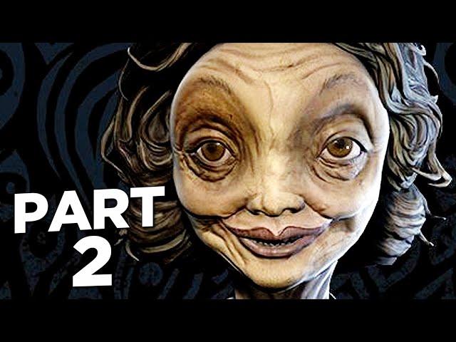 LITTLE NIGHTMARES 2 Walkthrough Gameplay Part 2 - TEACHER (FULL GAME)