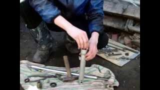 Замена сальников передней вилки на мопеде Альфа(Извините за монтаж. Первый раз) Вторая часть http://youtu.be/8tF-M1UJ1co., 2013-04-14T12:33:07.000Z)