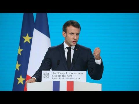 فرنسا ترفع مساهمتها في الصندوق العالمي لمكافحة الإيدز والسل والملاريا بنسبة 15 بالمئة  - 16:55-2019 / 10 / 10