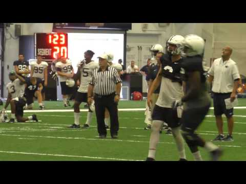 Watch Penn State's Trace McSorley and Tommy Stevens practice with game noise