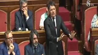 L'intervento al Senato sul Decreto Milleproroghe