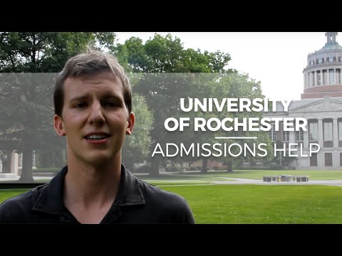 """The Perfectionist Gets REJECTED"" University of Rochester Admissions Help"