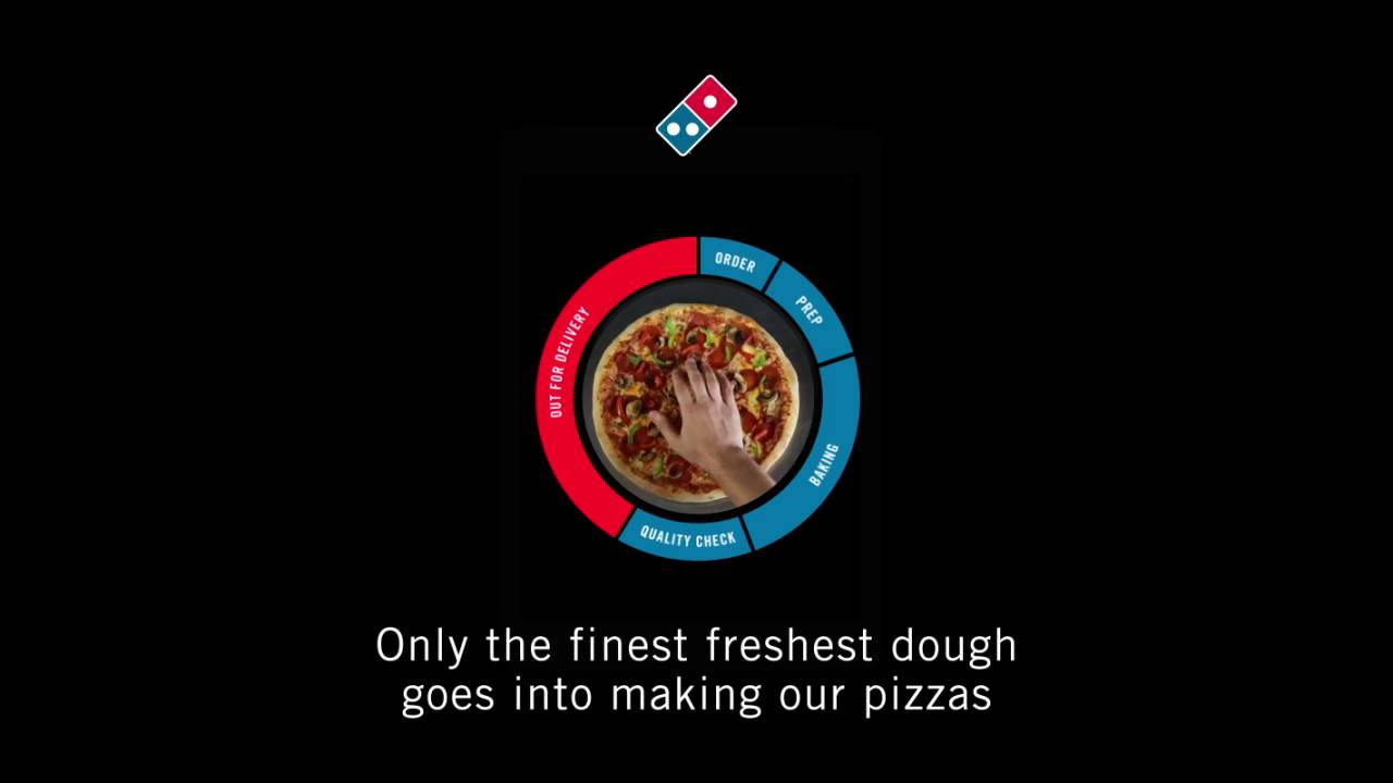 Domino S Pizza Tracker Youtube