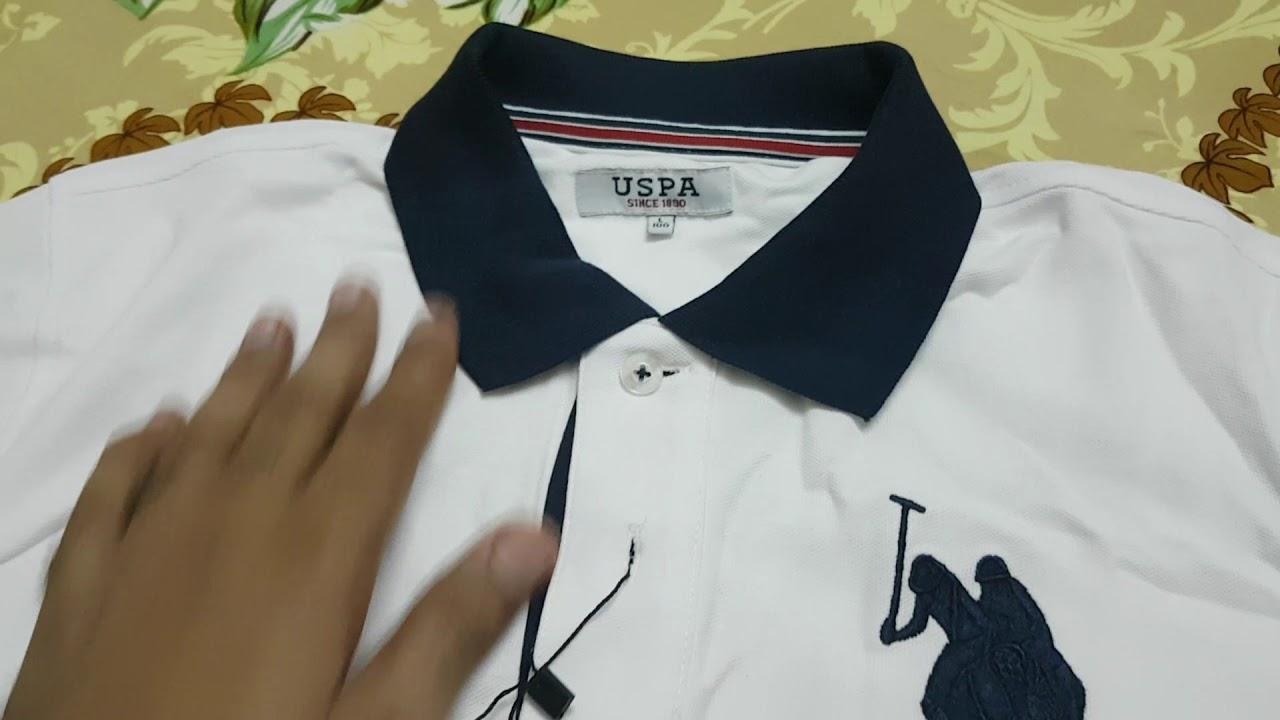 How To Check Original Us Polo T Shirt Big Logo Youtube